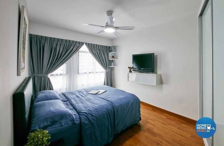 Contemporary, Minimalist, Scandinavian Design - Bedroom - HDB 4 Room - Design by Carpenters 匠