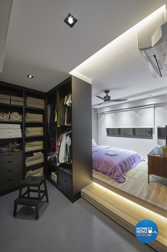 Contemporary, Eclectic, Industrial Design - Bedroom - HDB 4 Room - Design by Carpenters 匠