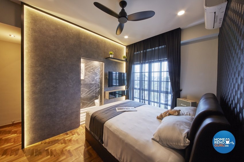 Industrial, Modern, Rustic Design - Bedroom - Condominium - Design by Carpenters 匠