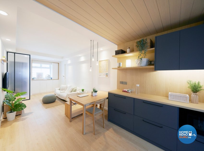 Scandinavian Design - Kitchen - HDB 3 Room - Design by Carpenters 匠