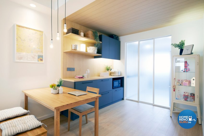 Scandinavian Design - Dining Room - HDB 3 Room - Design by Carpenters 匠