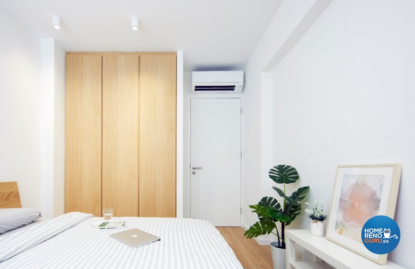 Scandinavian Design - Bedroom - HDB 3 Room - Design by Carpenters 匠