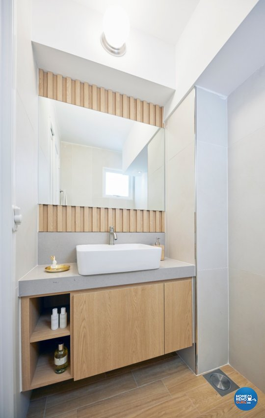 Scandinavian Design - Bathroom - HDB 3 Room - Design by Carpenters 匠
