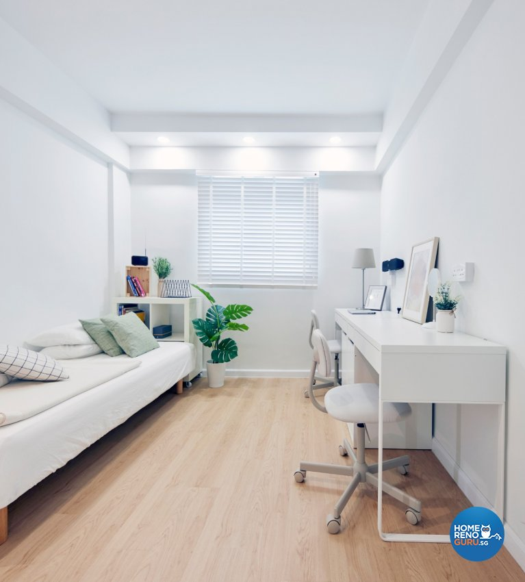 Scandinavian Design - Study Room - HDB 3 Room - Design by Carpenters 匠