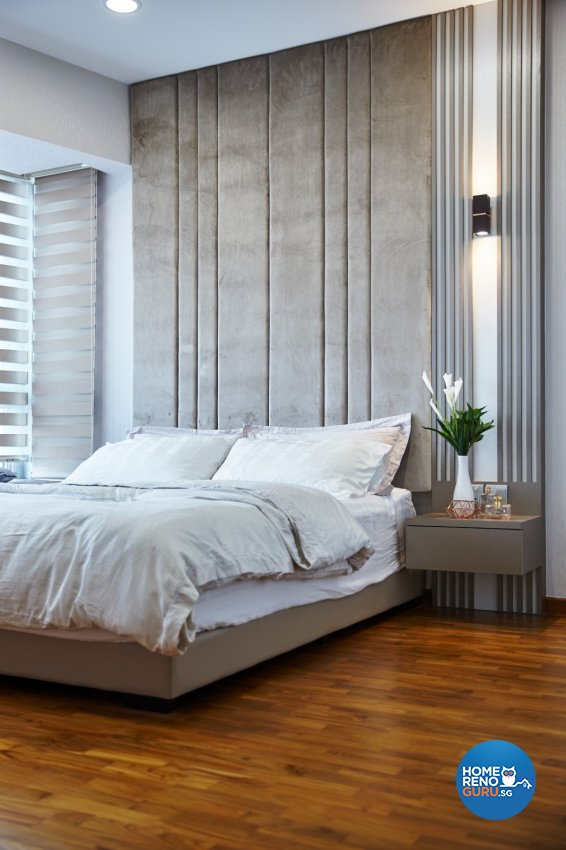 Contemporary, Modern, Oriental Design - Bedroom - Condominium - Design by Carpenters 匠