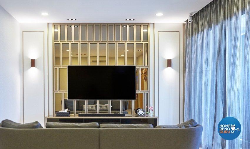 Contemporary, Modern, Oriental Design - Living Room - Condominium - Design by Carpenters 匠
