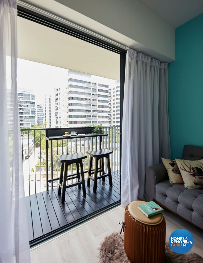 Modern Design - Balcony - Condominium - Design by Carpenters 匠
