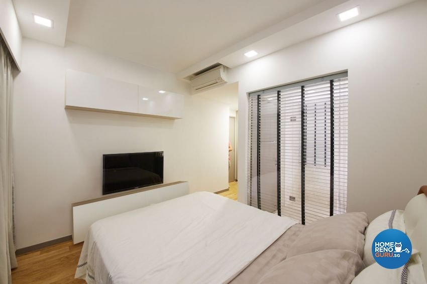 Contemporary, Minimalist, Modern Design - Bedroom - Condominium - Design by Carpenters 匠