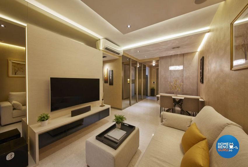 Classical, Contemporary, Scandinavian Design - Living Room - Condominium - Design by Carpenters 匠