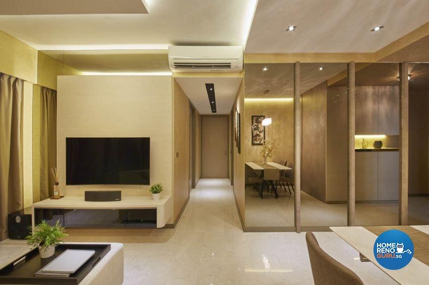 Classical, Contemporary, Scandinavian Design - Living Room - Condominium - Design by Carpenters 匠
