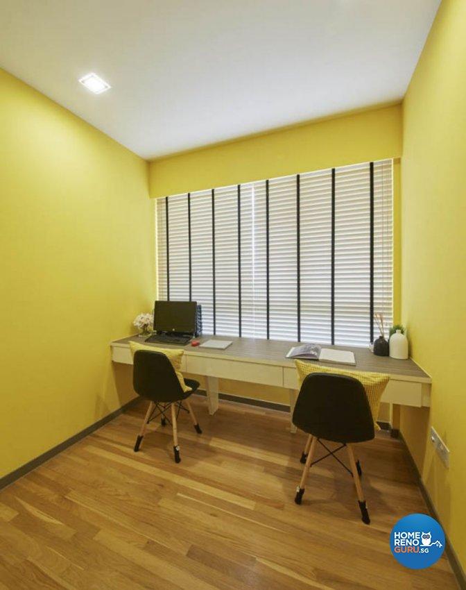 Classical, Contemporary, Scandinavian Design - Study Room - Condominium - Design by Carpenters 匠