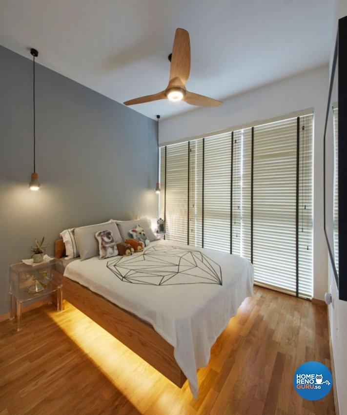 Classical, Modern, Scandinavian Design - Bedroom - Condominium - Design by Carpenters 匠