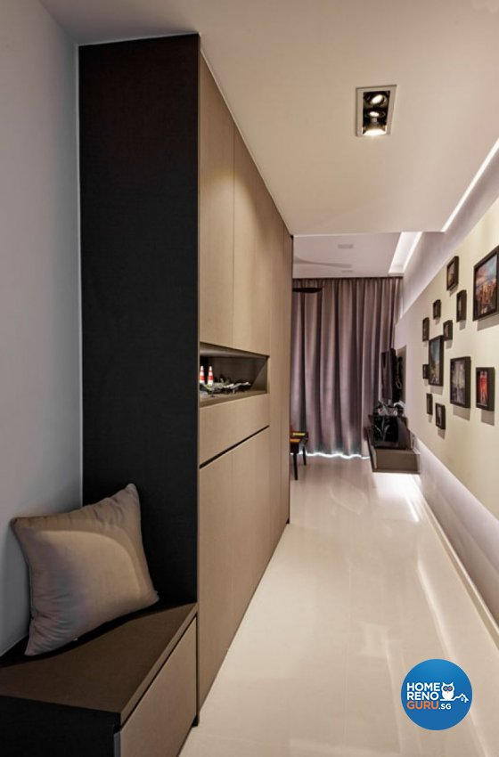 Eclectic, Modern Design - Living Room - Condominium - Design by Carpenters 匠