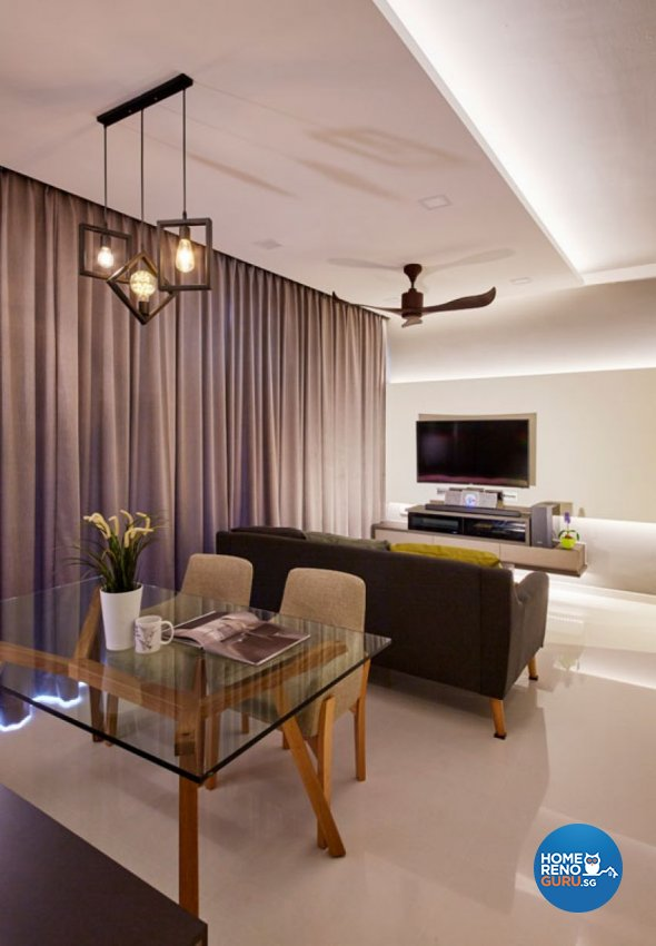 Eclectic, Modern Design - Dining Room - Condominium - Design by Carpenters 匠