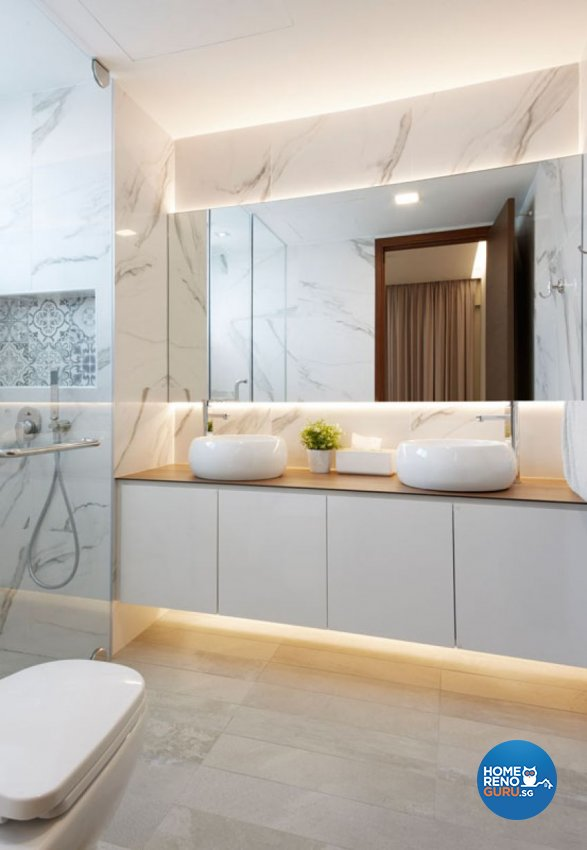 Minimalist, Rustic, Scandinavian Design - Bathroom - Condominium - Design by Carpenters 匠