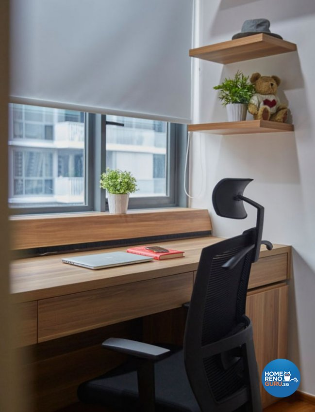 Scandinavian Design - Study Room - Condominium - Design by Carpenters 匠