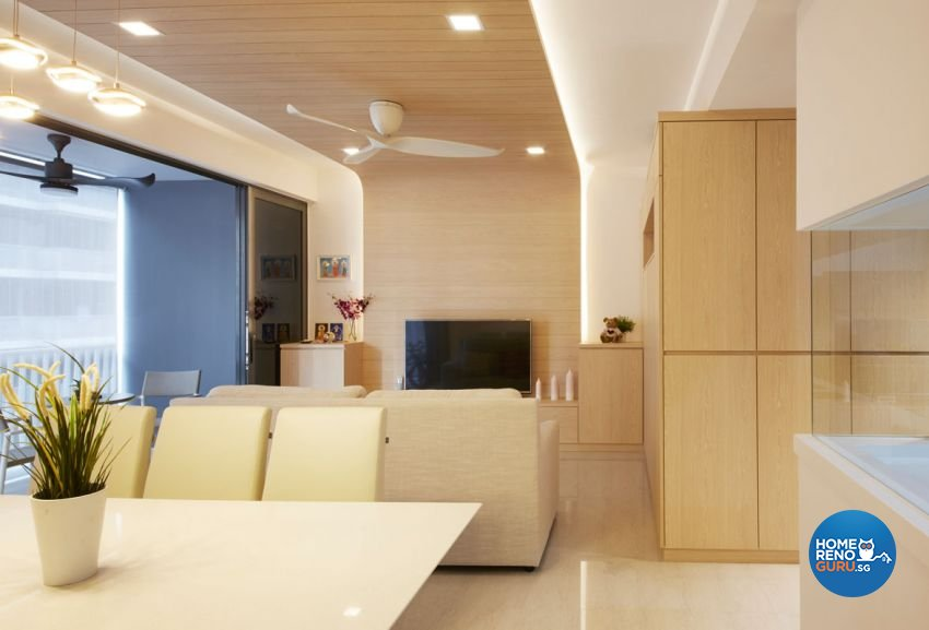 Scandinavian Design - Dining Room - Condominium - Design by Carpenters 匠