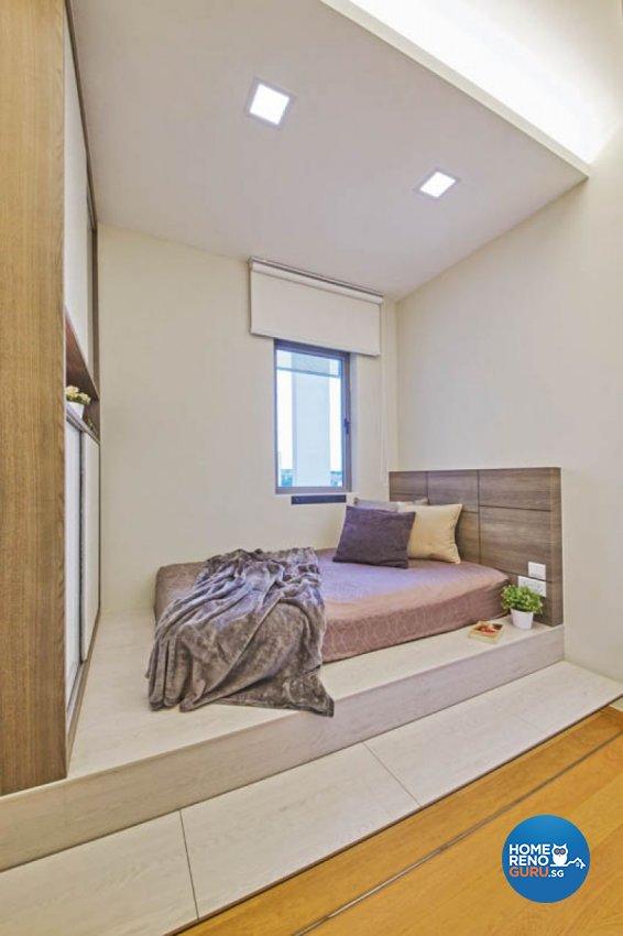 Minimalist, Scandinavian Design - Bedroom - Condominium - Design by Carpenters 匠