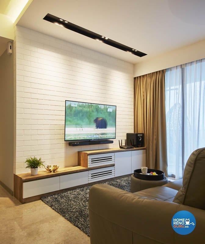 Minimalist, Modern, Scandinavian Design - Living Room - Condominium - Design by Carpenters 匠