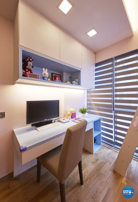 Minimalist, Modern, Scandinavian Design - Study Room - Condominium - Design by Carpenters.com.sg