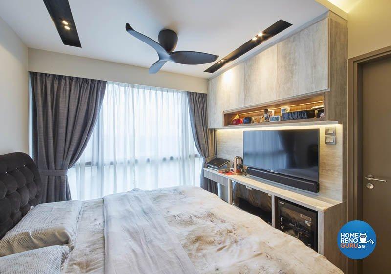 Minimalist, Modern, Scandinavian Design - Bedroom - Condominium - Design by Carpenters 匠