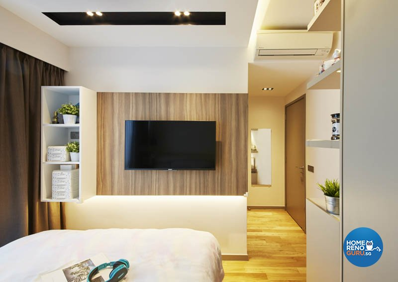 Minimalist, Modern, Scandinavian Design - Bedroom - Condominium - Design by Carpenters.com.sg