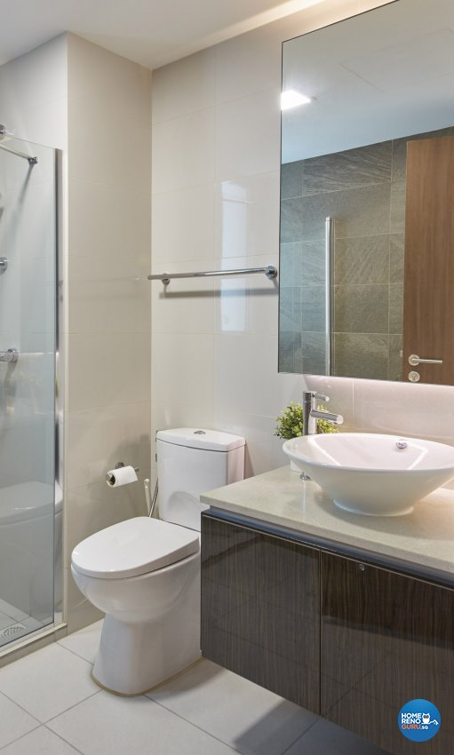Eclectic, Minimalist, Scandinavian Design - Bathroom - Condominium - Design by Carpenters.com.sg