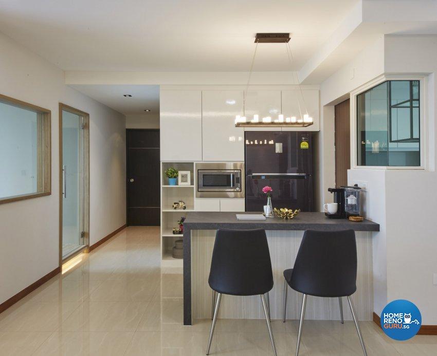 Eclectic, Minimalist, Scandinavian Design - Dining Room - Condominium - Design by Carpenters 匠