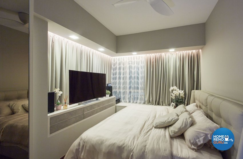 Classical, Modern, Scandinavian Design - Bedroom - Condominium - Design by Carpenters.com.sg