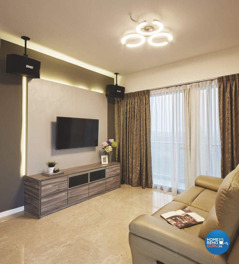Eclectic, Industrial, Modern Design - Living Room - Condominium - Design by Carpenters 匠