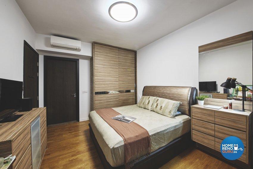 Eclectic, Industrial, Modern Design - Bedroom - Condominium - Design by Carpenters.com.sg