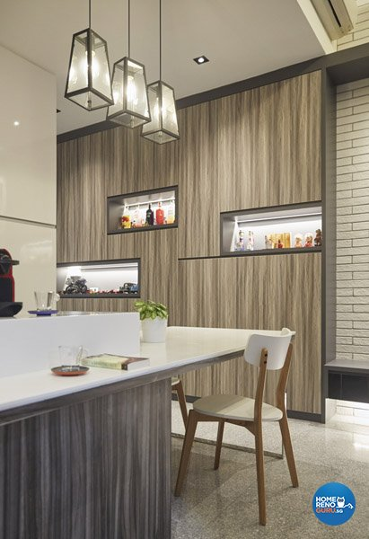 Eclectic, Rustic, Scandinavian Design - Dining Room - Condominium - Design by Carpenters 匠
