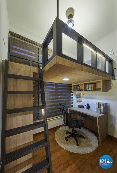 Eclectic, Rustic, Scandinavian Design - Bedroom - Condominium - Design by Carpenters 匠
