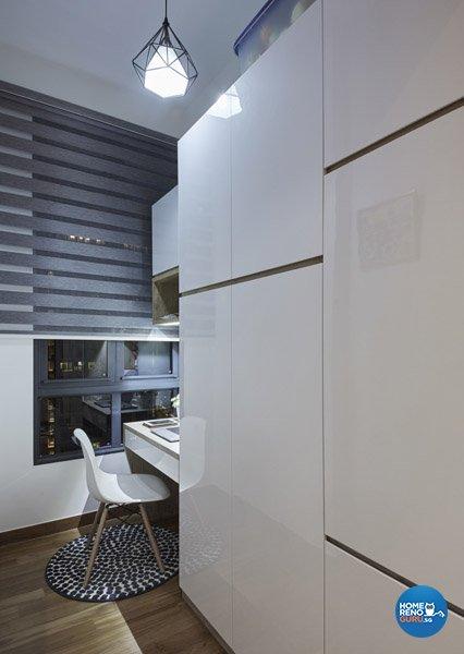 Eclectic, Rustic, Scandinavian Design - Study Room - Condominium - Design by Carpenters 匠