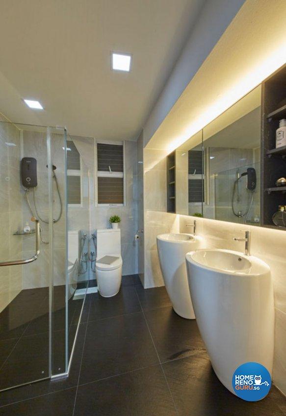 Scandinavian Design - Bathroom - Condominium - Design by Carpenters 匠