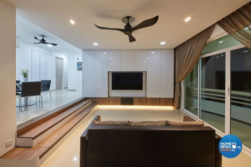 Scandinavian Design - Living Room - Condominium - Design by Carpenters 匠