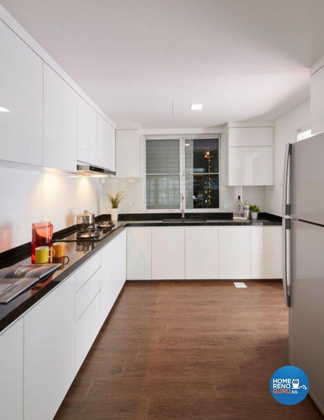 Scandinavian Design - Kitchen - Condominium - Design by Carpenters 匠