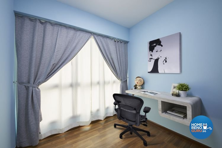 Contemporary, Modern, Scandinavian Design - Bedroom - HDB 4 Room - Design by Carpenters 匠