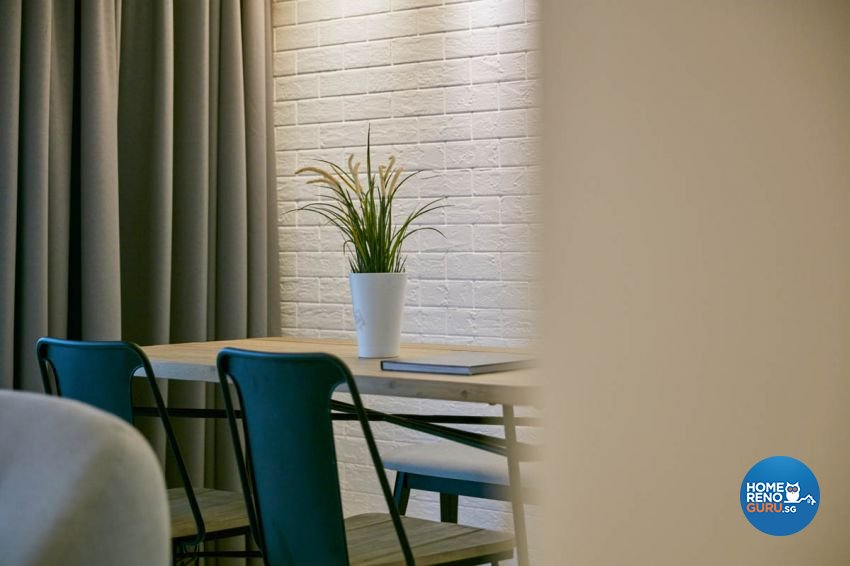 Scandinavian Design - Dining Room - HDB Executive Apartment - Design by Carpenters 匠