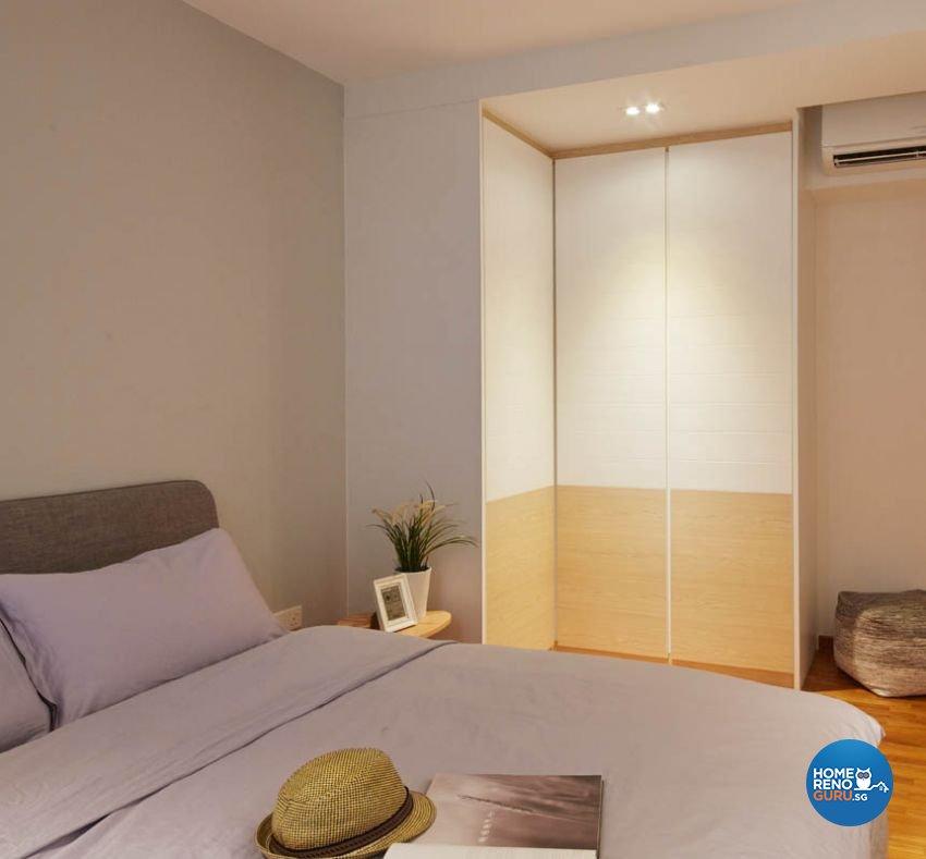 Scandinavian Design - Bathroom - HDB Executive Apartment - Design by Carpenters 匠