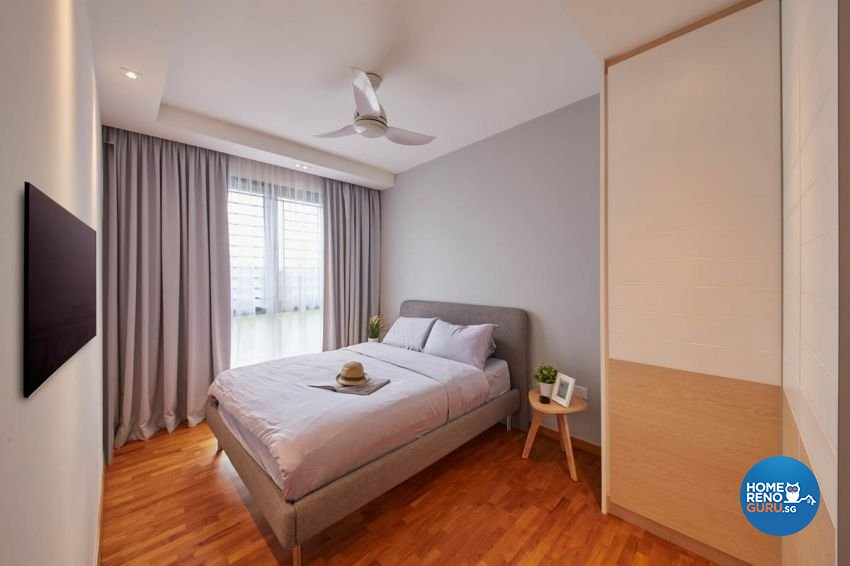 Scandinavian Design - Bedroom - HDB Executive Apartment - Design by Carpenters 匠