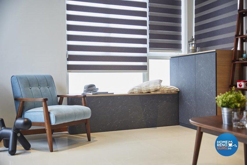 Contemporary, Industrial, Modern Design - Living Room - Condominium - Design by Carpenters 匠