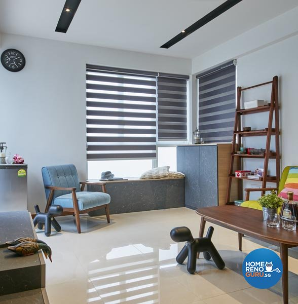 Contemporary, Industrial, Modern Design - Living Room - Condominium - Design by Carpenters 匠