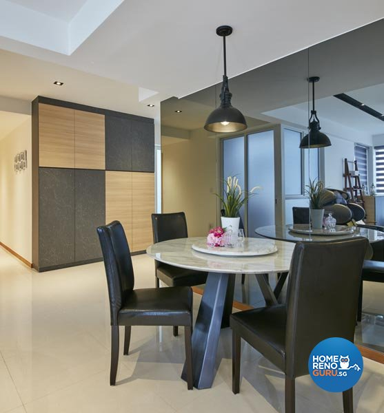 Contemporary, Industrial, Modern Design - Dining Room - Condominium - Design by Carpenters 匠