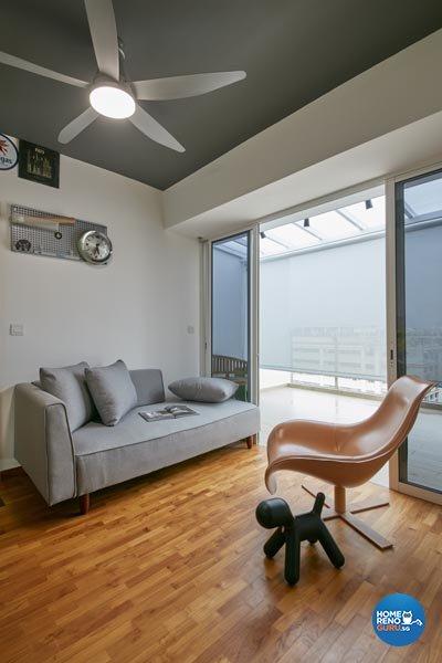 Contemporary, Industrial, Modern Design - Entertainment Room - Condominium - Design by Carpenters 匠