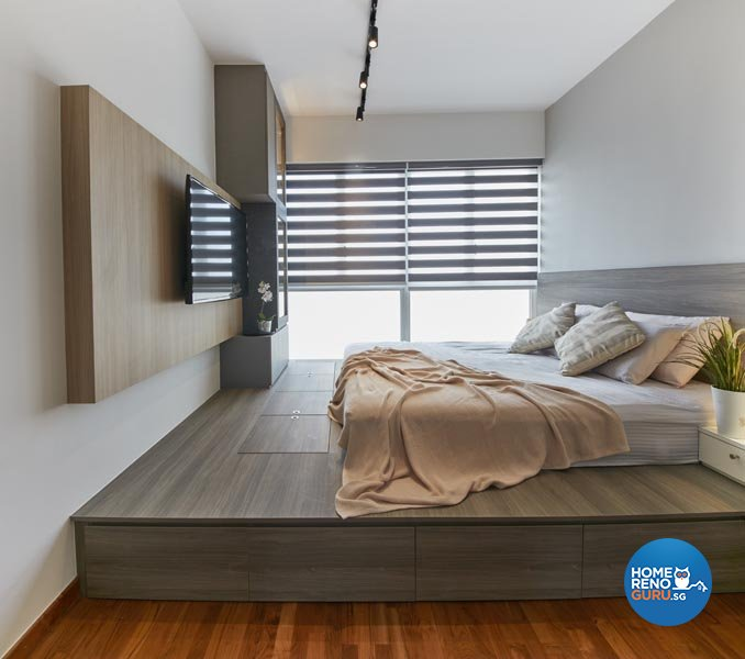 Contemporary, Industrial, Modern Design - Bedroom - Condominium - Design by Carpenters 匠