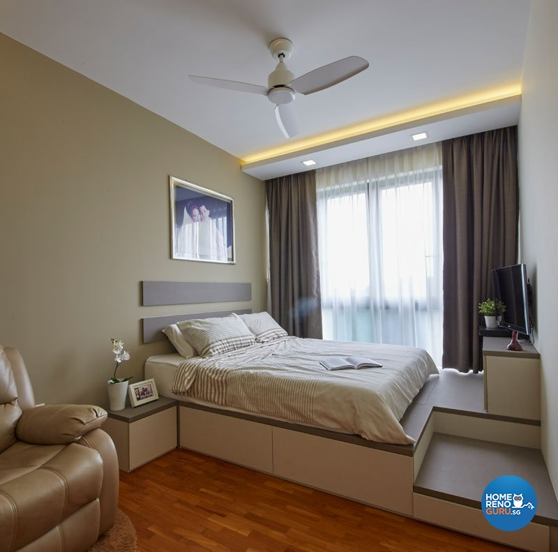 Classical, Contemporary, Modern Design - Bedroom - Condominium - Design by Carpenters.com.sg