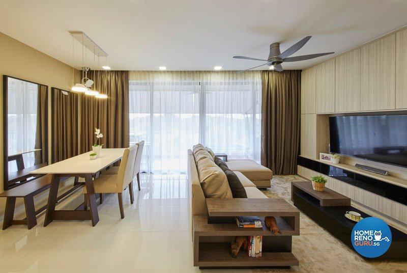 Classical, Contemporary, Modern Design - Living Room - Condominium - Design by Carpenters.com.sg
