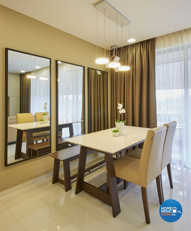 Classical, Contemporary, Modern Design - Dining Room - Condominium - Design by Carpenters.com.sg