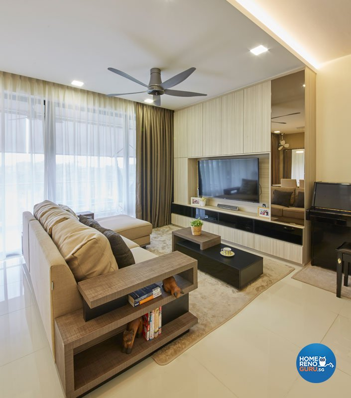 Classical, Contemporary, Modern Design - Living Room - Condominium - Design by Carpenters 匠